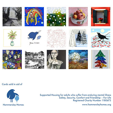 Our fun packs of Christmas Cards are now available from our WebShop!